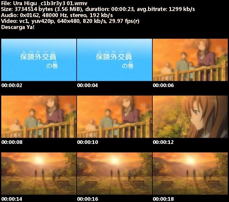 Higurashi no Naku Koro ni Kai Specials Ura Higu