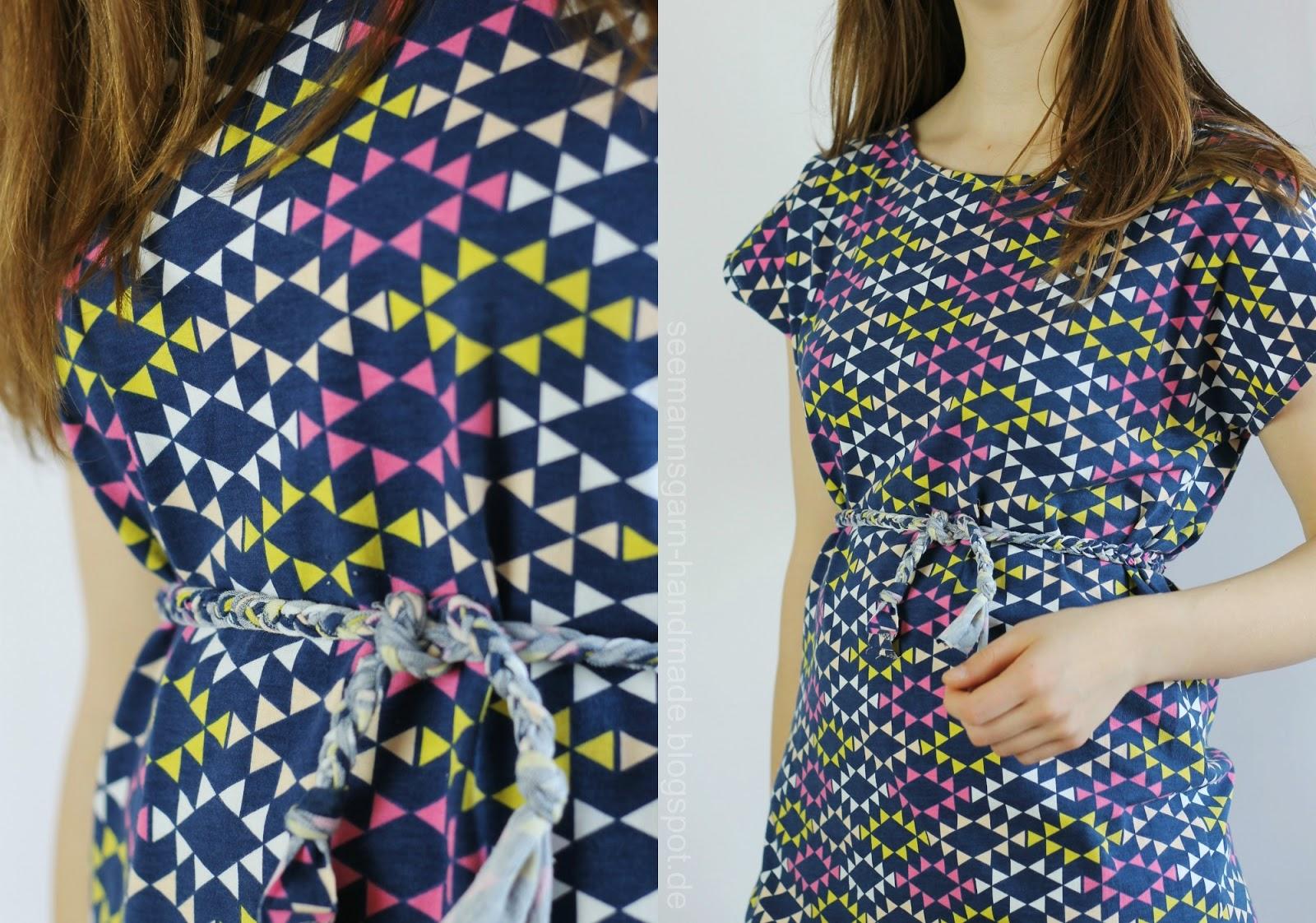 Famous Tee Kleid Schnittmuster Gallery - Decke Stricken Muster ...