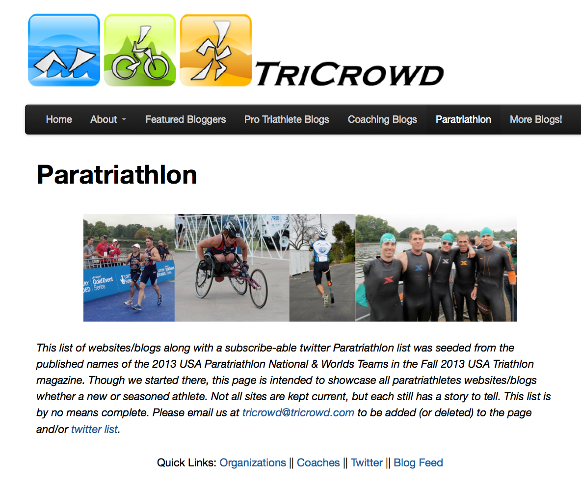 http://www.tricrowd.com/paratriathlon/