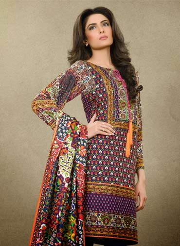 Pakistani Lawn Prints 2015