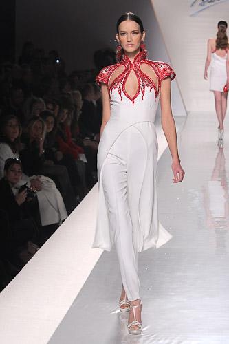 Fausto Sarli ilkbahar 2012 Haute Couture Koleksiyonu