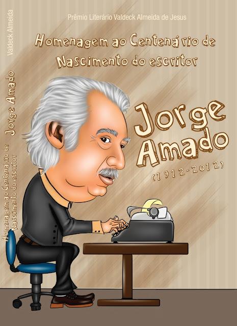 Capa do livro jorge amado ricksu caricaturas