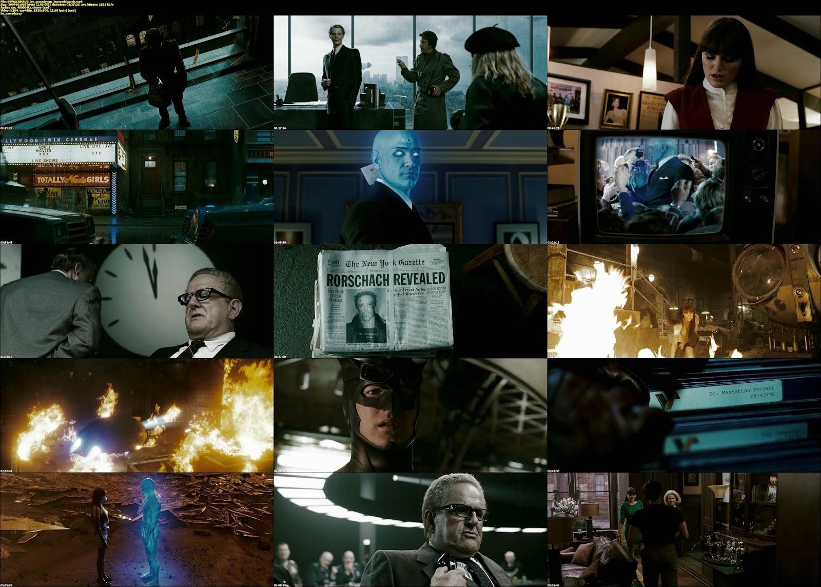 Watchmen [2009] [BBRip] [Subtitulada]
