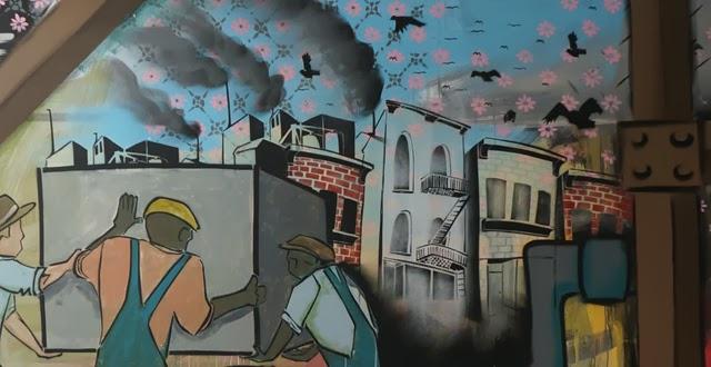zach medler lafayette indiana mural