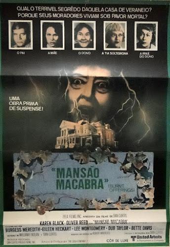 MANSÃO MACABRA - BURNT OFFERINGS - 1976