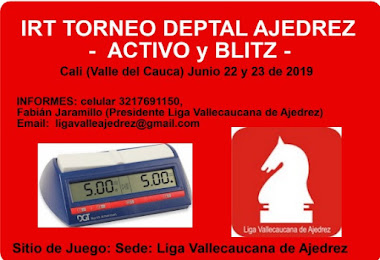 Deptal Ajedrez Activo y Blitz Valle del Cauca (Dar clic a la imagen)