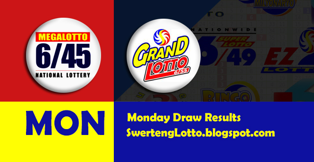 August 10, 2015 for 6/45 Mega Lotto and 6/55 Grand Lotto PCSO Draw Results