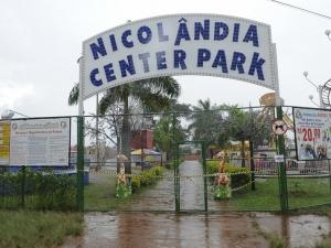 Autoridades interditam o Nicolândia em Brasília