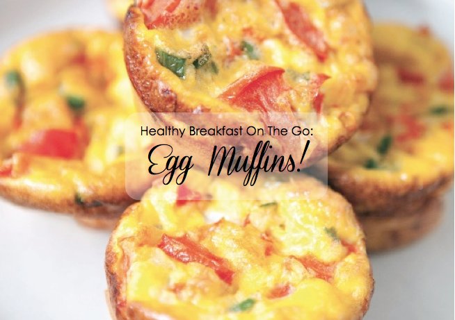 Beach Babe Fitness Healthy Breakfast On The Go Egg Muffins
