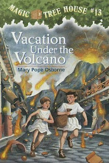 Magic Tree House Series #13  Vacation Under The Volcano by Mary Pope Osborne book cover