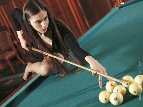 Anastasia Luppova, Gorgeous Russian Billiards Player