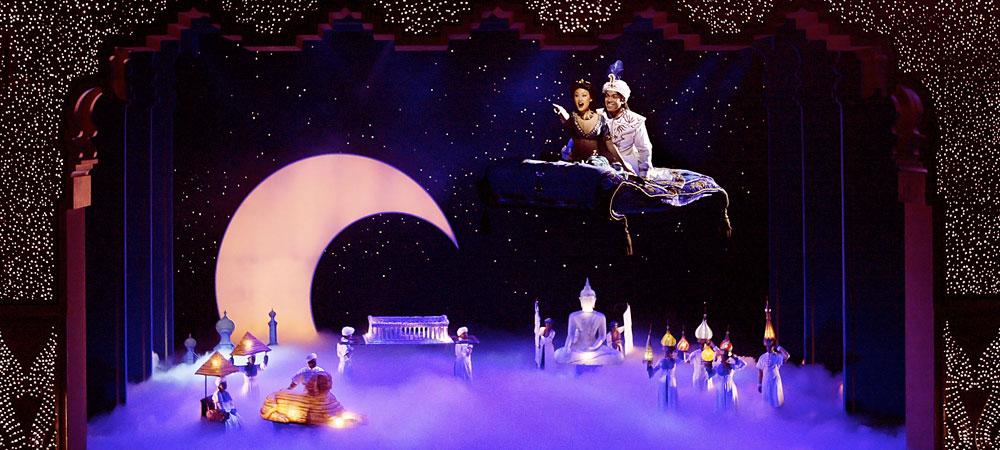 PALACE HOTEL SYDNEY Disneys Aladdin musical set to