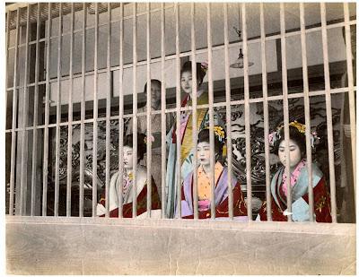 cortesanas geishas yoshiwara japon