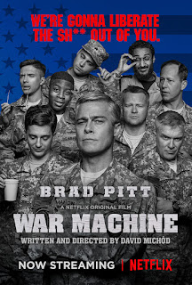 War Machine 2017 Hindi Dual Audio Movie 720p hevc WEBRip