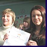 Видеорепортаж о Школьном конкурсе песни на английском языке в городе Дзержинске.