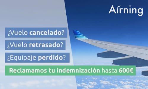 Airning - Reclama tu indemnización