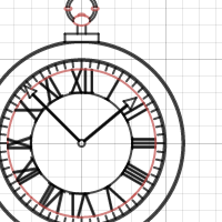 picture of Ania's Stopwatch created using Desmos.com