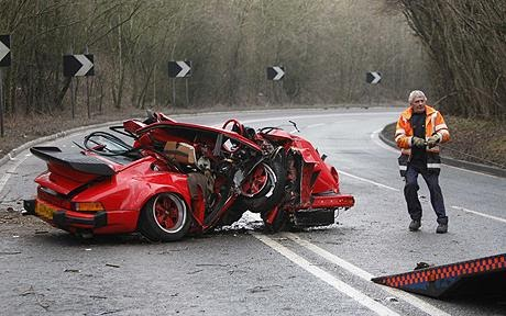 Blogger Sports Car Crashes