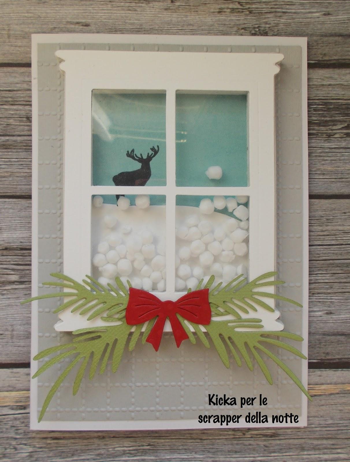 Scrapper della notte uso e oso tema freddo e neve - Cosa vedo dalla mia finestra tema ...