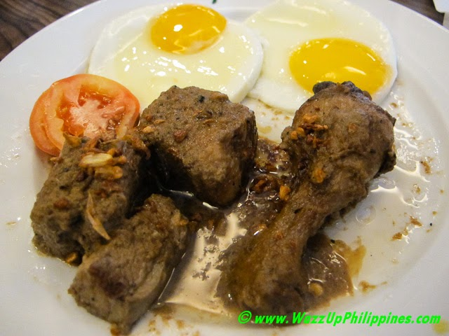 Aling Asiang's Chicken and Pork Adobo Plate – P250
