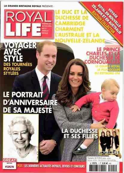Royal Life: un nouveau magazine consacré à la famille royale britannique