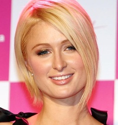 Paris Hilton Short Bob Hairstyles