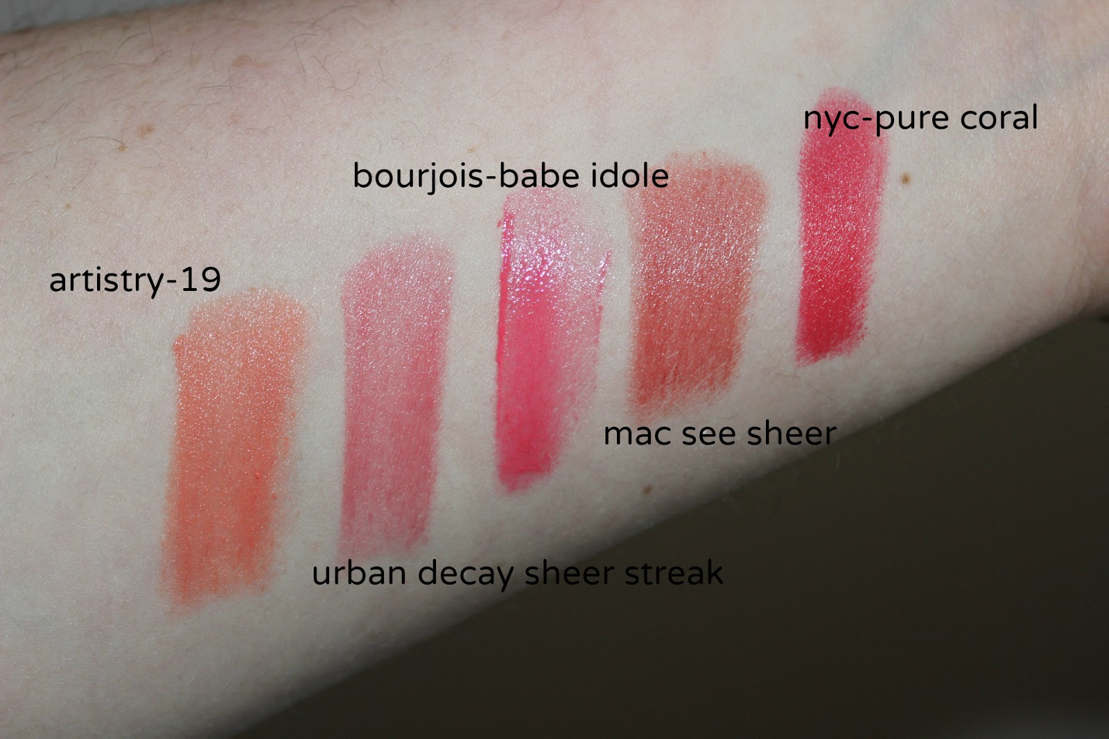 top coral lipsticks
