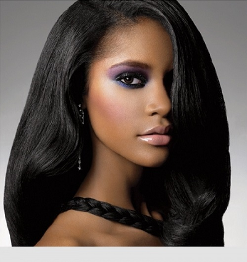 Black Hair Color for Black Women