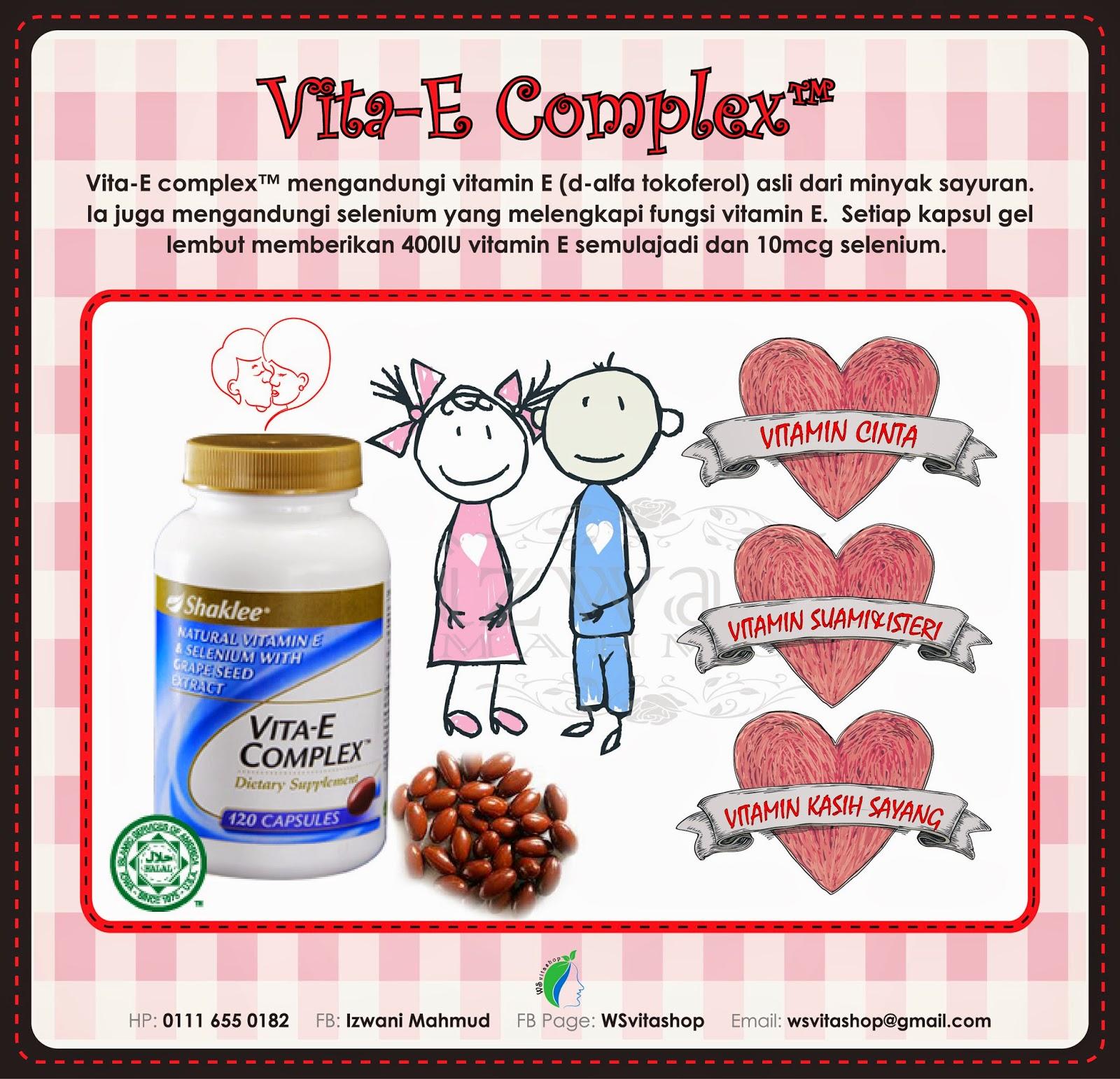 Vita E Complex Shaklee