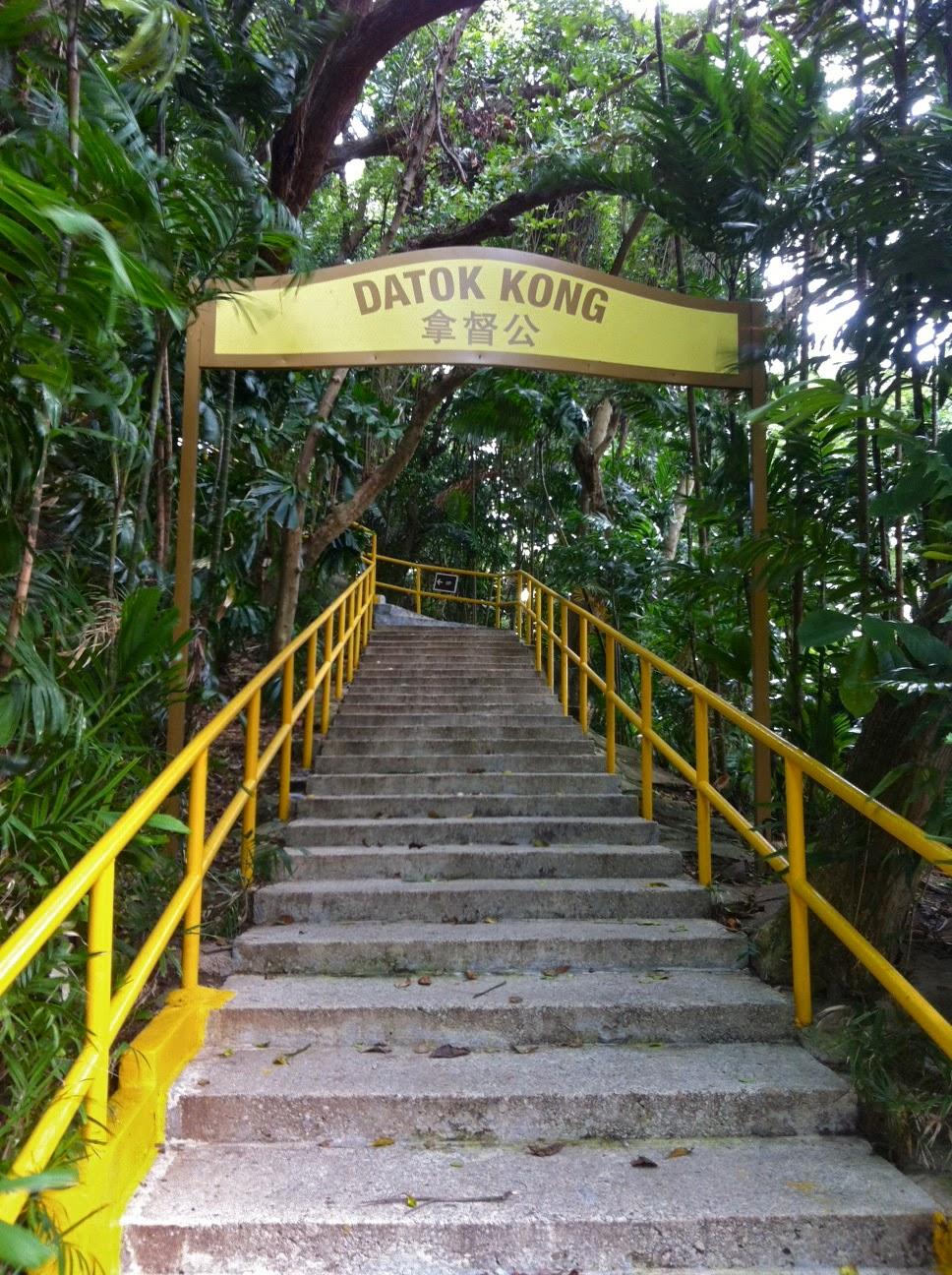 Kusu island Datok Kong