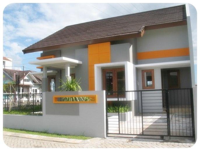 contoh model rumah minimalis modern dan sederhana
