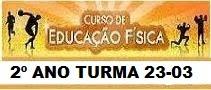 DIÁRIO ED. FÍSICA 23-03