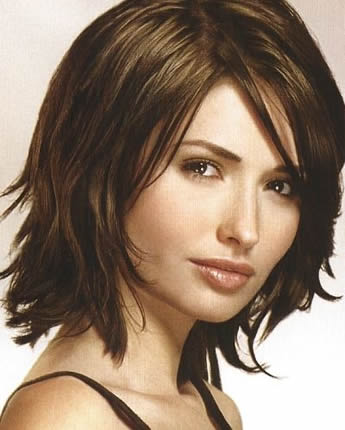 medium length layered hairstyles