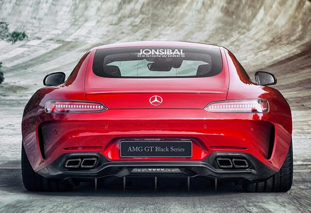rendering mercedes amg gt black series von jon sibal myauto24 das autoblog im internet myauto24. Black Bedroom Furniture Sets. Home Design Ideas
