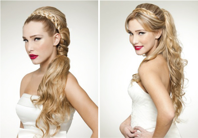 Wedding Trends} : Braided Hairstyles