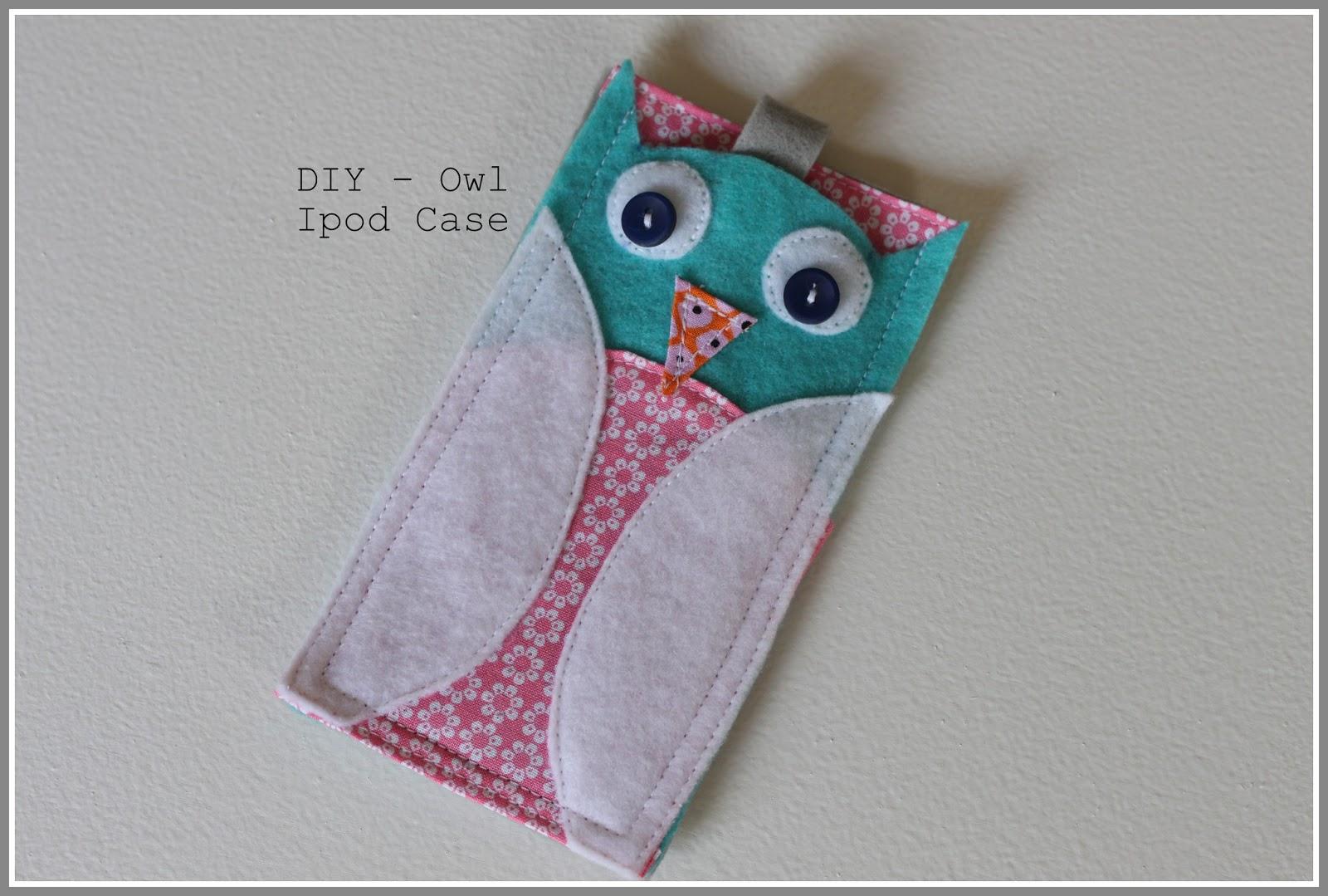 Adhesivo De Montaje Agorex ~ Tutorial Owl Case For iPod Touch Handmade Frenzy