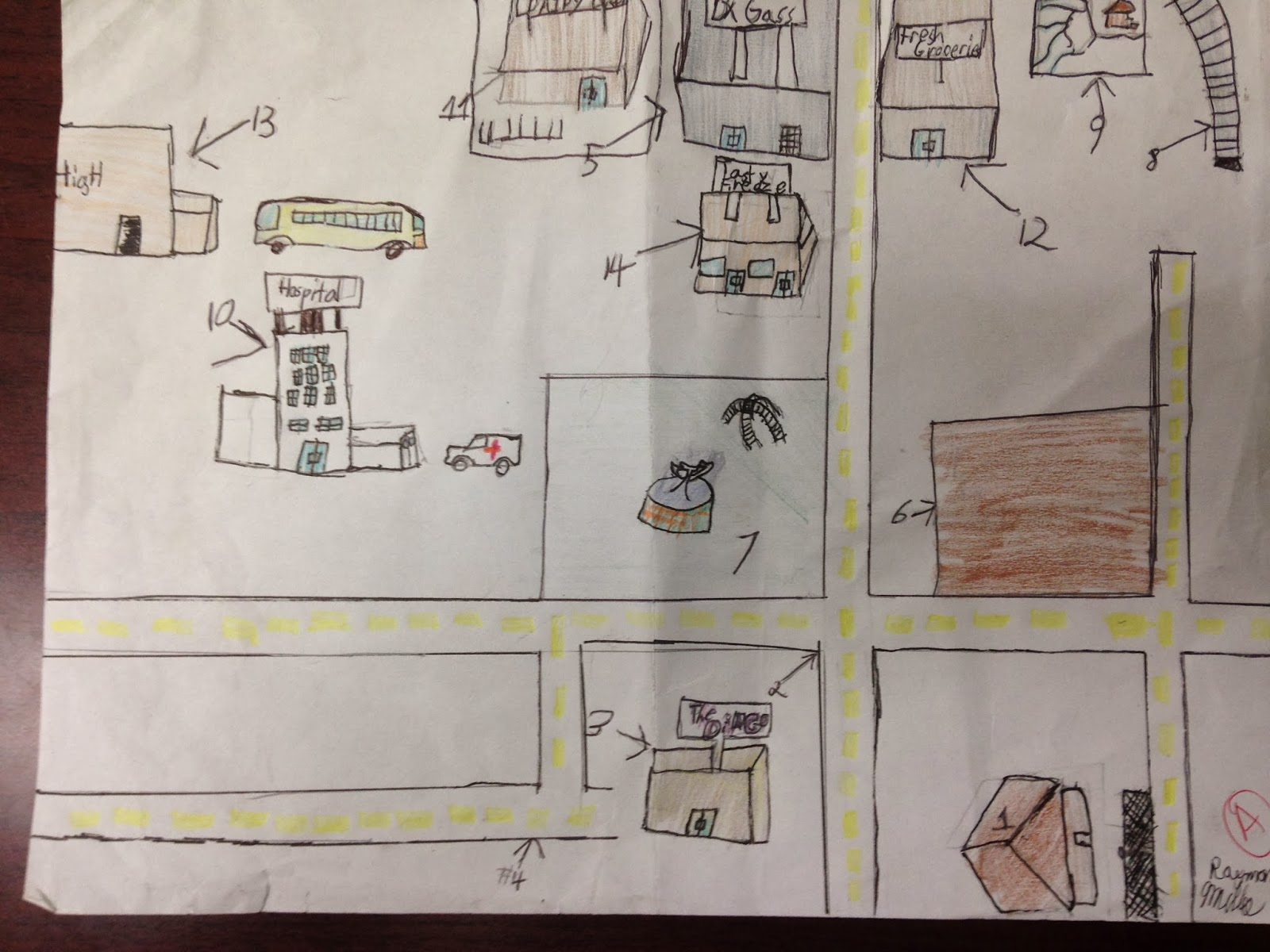 Ms Ware S English 7g Blog Outsiders Map Examples
