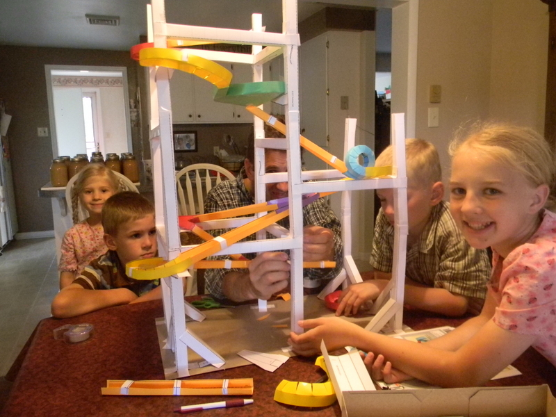 how to make a paper roller coaster