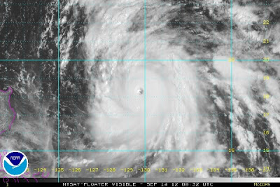 Super tifón Sanba 14 de Septiembre 2012