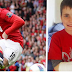 top news : video budak kecik jamie thomas, patah tangan kena rembatan bola wayne rooney...