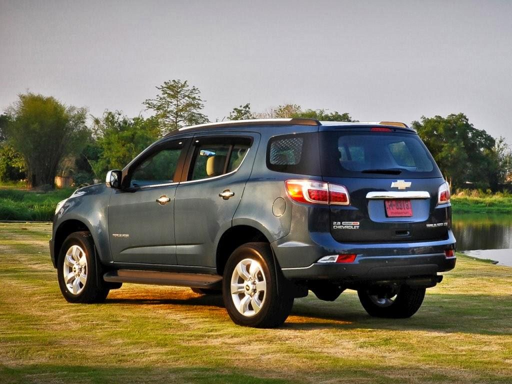 Chevrolet trailblazer suv 2014