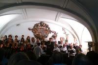 El coro AVANED ACTUÓ EN STA. María