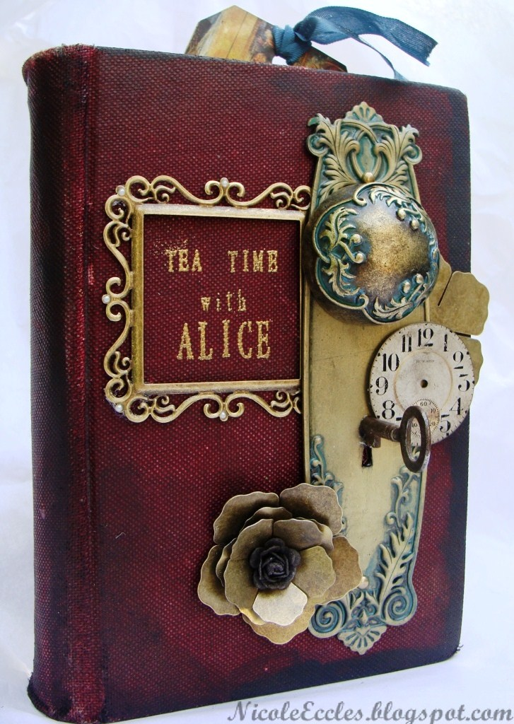 Alice In Wonderland Book Cover Ideas : Art designs by nicole eccles g featured tea time with