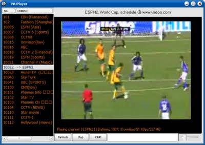 VUPlayer: Nonton TV kabel Gratis