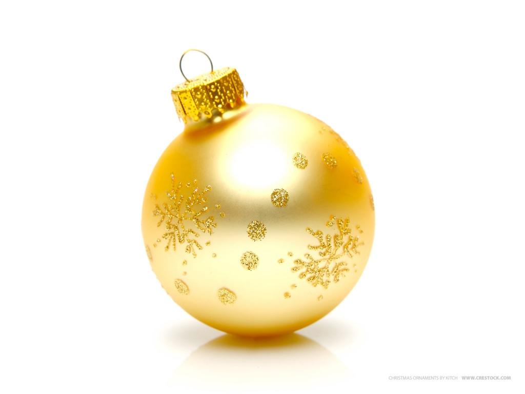 Pompas de ideas feliz navidad a tod s - Bolas de navidad doradas ...