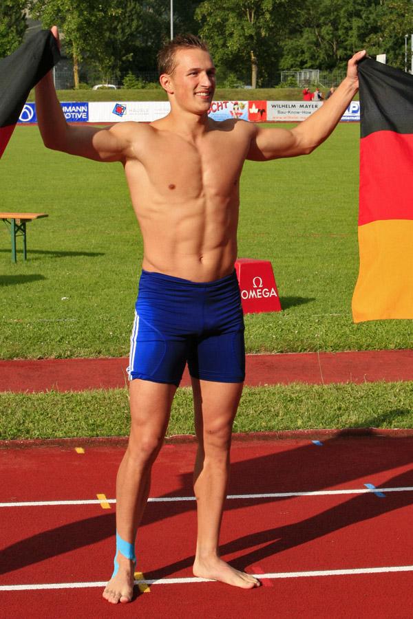 German Athlete Michael Schrader (DECATHLON) | MALE ATHLETES