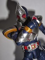 Kamen Rider Blade strikes a pose