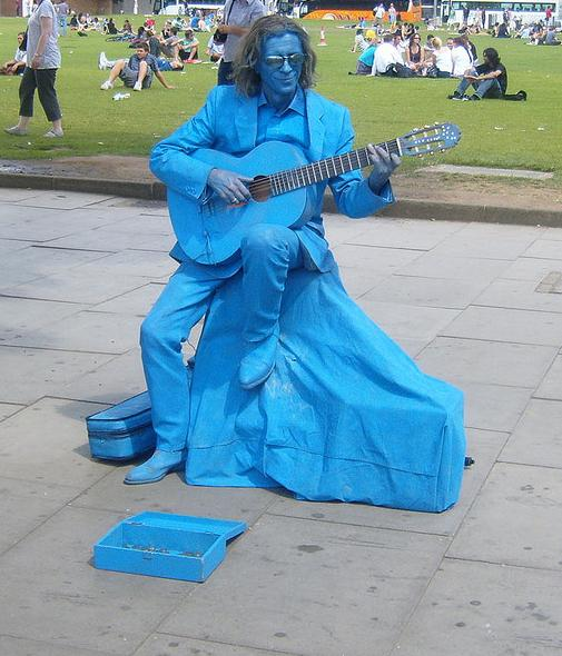 Fake Statue Street Performers Seen On www.coolpicturegallery.us