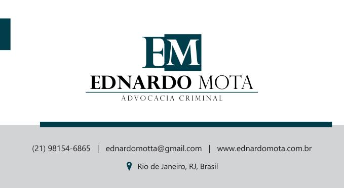 Advogado Criminalista RJ - Ednardo Mota
