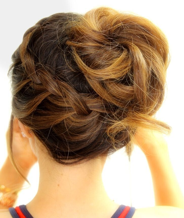 Simple Braided Hairstyles For Medium Natural Hair : New easy updo styles for medium hair jere haircuts
